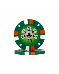 Royal Flush Poker Chips 25