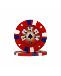 Royal Flush Poker Chips 5