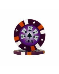 Royal Flush Poker Chips 500