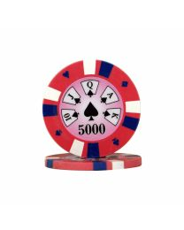 Royal Flush Poker Chips 5.000