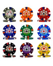Royal Flush poker chips