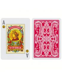Fournier Baraja Poker Español Nº 20 Rojo
