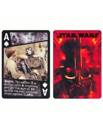 Starwars playing cards Darth Vader