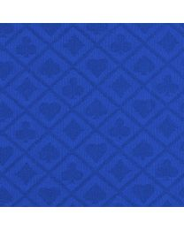 Suited Poker Speed Cloth Blue