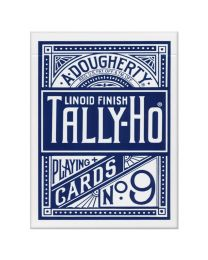 Tally-Ho Playing Cards Circle Back Blue