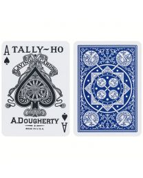 Tally-Ho Fan Back Deck Blue
