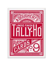 Tally-Ho Fan Back Deck Red