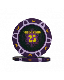 Poker chips tournament 25