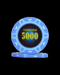 Poker chips tournament 5000