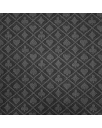 Two-tone suited speed poker card table cloth black