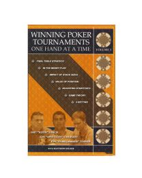 Winning Poker Tournaments One Hand at a Time, Volume 3