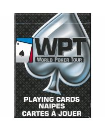 World Poker Tour Playing Cards Black