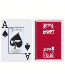 World Poker Tour Playing Cards Bicycle Red