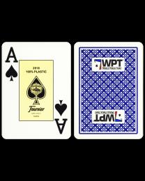 World Poker Tour cards Fournier blue