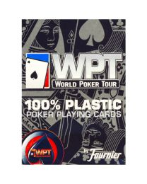 World Poker Tour cards Fournier red