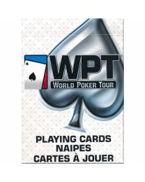 World Poker Tour Playing Cards White