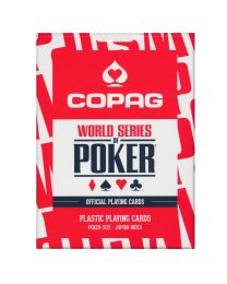 COPAG World Series of Poker Cards Red