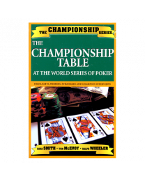 Championship Table at the WSOP
