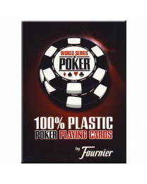 Fournier WSOP playing cards red