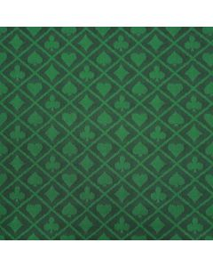 Two-tone suited speed poker card table cloth green