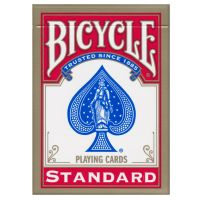 Bicycle Standard Index Playing Cards Red