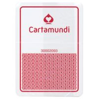 Cartamundi Plastic Casino Playing Cards Red