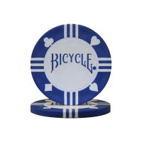 Bicycle Poker Chips with Tray