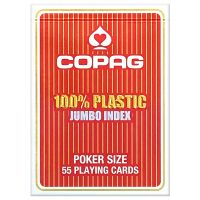 COPAG 100% plastic Jumbo Face red