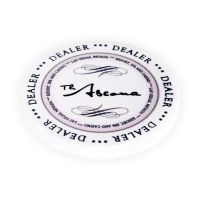 Ceramic Dealer Button Ascona