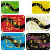 Euro Casino Poker Plaques