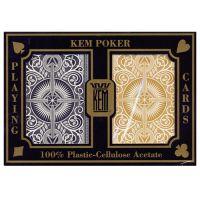 KEM poker cards arrow gold and black