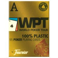 WPT Gold Edition Red Poker Playing Cards by Fournier
