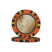 Poker chips Euro design €0.10