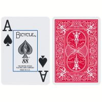 Bicycle Playing Cards Jumbo Index Red