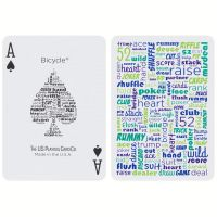 Bicycle Table Talk Playing Cards Blue