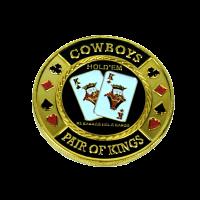 Card Protector Cowboys Pair of Kings