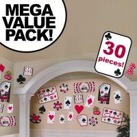 Casino Cutouts Cardstock Decorations