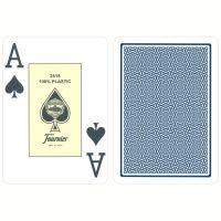 Fournier Jumbo Poker Cards Blue