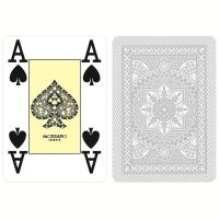 Gray Plastic Playing Cards Modiano