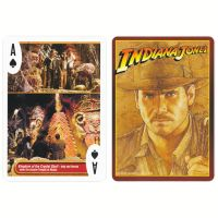Playing cards Indiana Jones