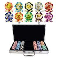 Poker case Euro design 300 chips