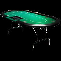 Poker Table Cash Game Green