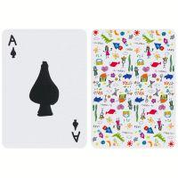 Speelkaarten gemaakt door kinderen