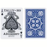 Tally-Ho Fan Back Deck Blue