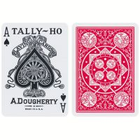 Tally-Ho Fan Back Deck Red