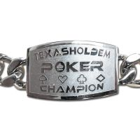 Texas Holdem Poker Champion Bracelet