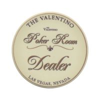 The Valentino Poker Room Dealer