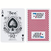 Playing Cards World Poker Tour Red