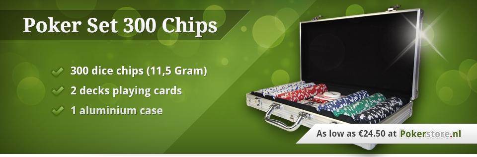 best poker deal set