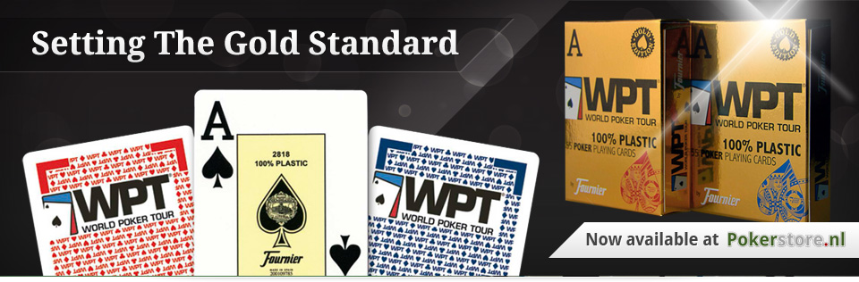 WPT playing cards Fournier